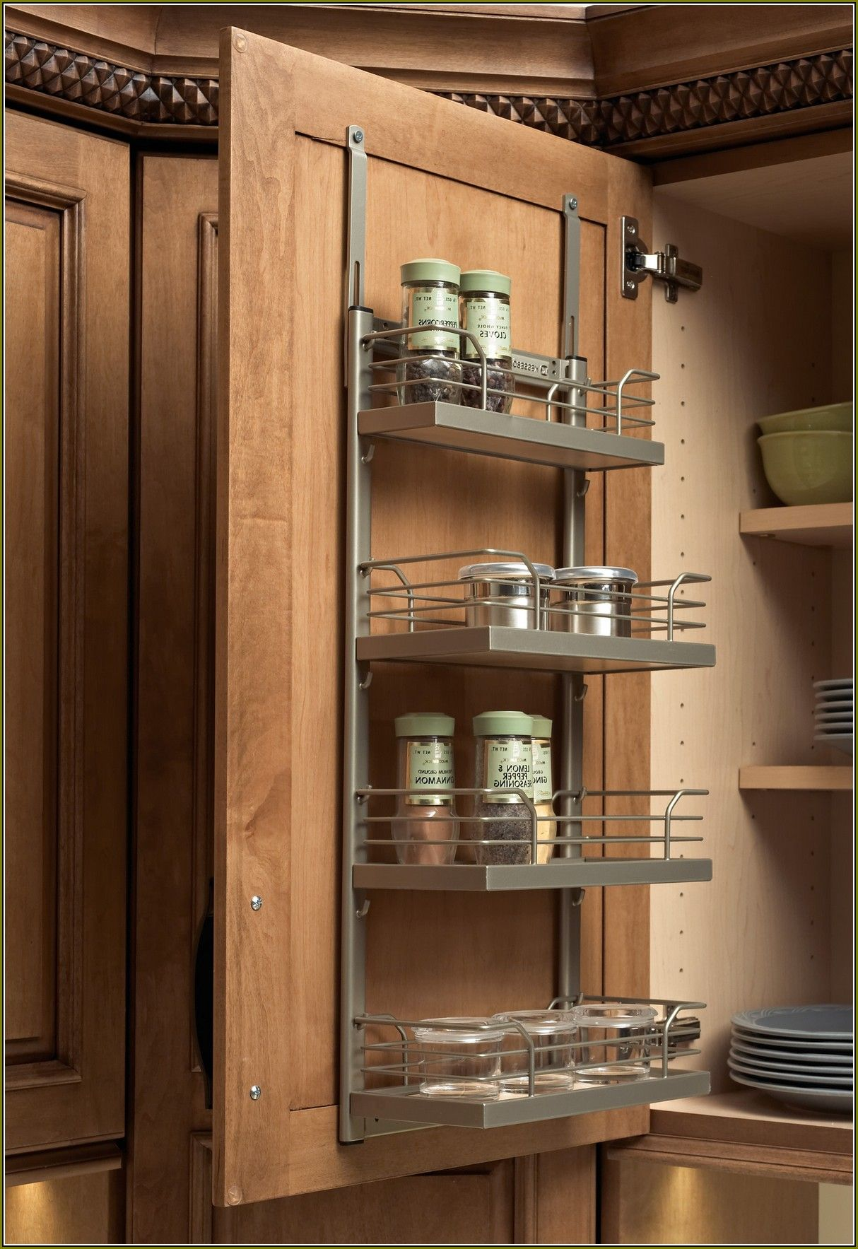9 Awesome Narrow Cabinet Spice Rack Images Kitchen Upgrade Diy Small Kitchen Decor Cabinet Spice Rack
