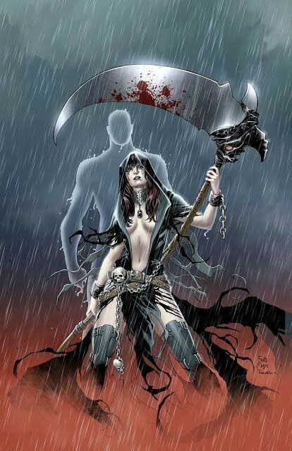 Pin By Lady Death Daddy S Mama On Death Grim Reaper Art Fantasy Girl Grim Reaper