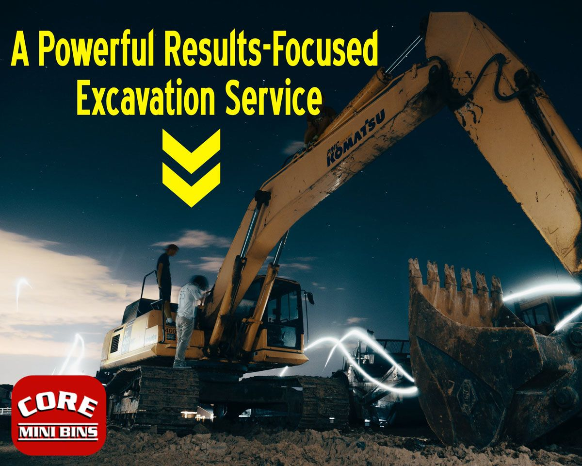 Excavations can be long large difficult and problem