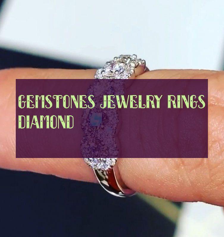 Gemstones jewelry rings diamond