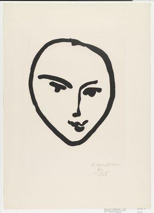 Nadia. Smiling Face (Nadia. Masque souriant)  Henri Matisse