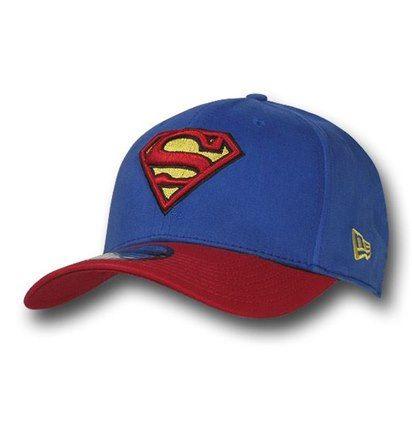 00f7a626da9 Superman 39Thirty Blue   Red Baseball Cap