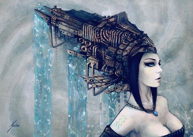 Aquarius: Children Of The Celestial Sea by techgnotic on DeviantArt