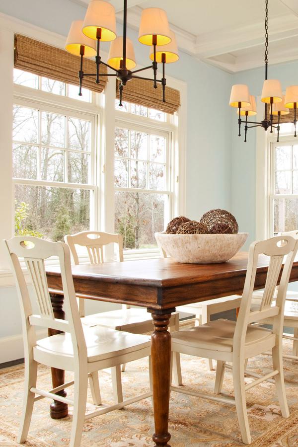 غرف الطعام و غرف السفرة الخشبية الأنيقة للبيوت الفخمة ديكورات أرابيا Country Style Dining Room Traditional Dining Rooms Dining Table Centerpiece