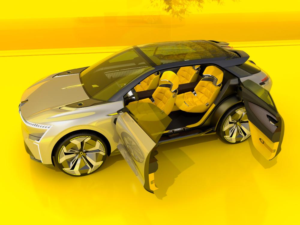 Renault unveils shapeshifting Morphoz concept car in 2020