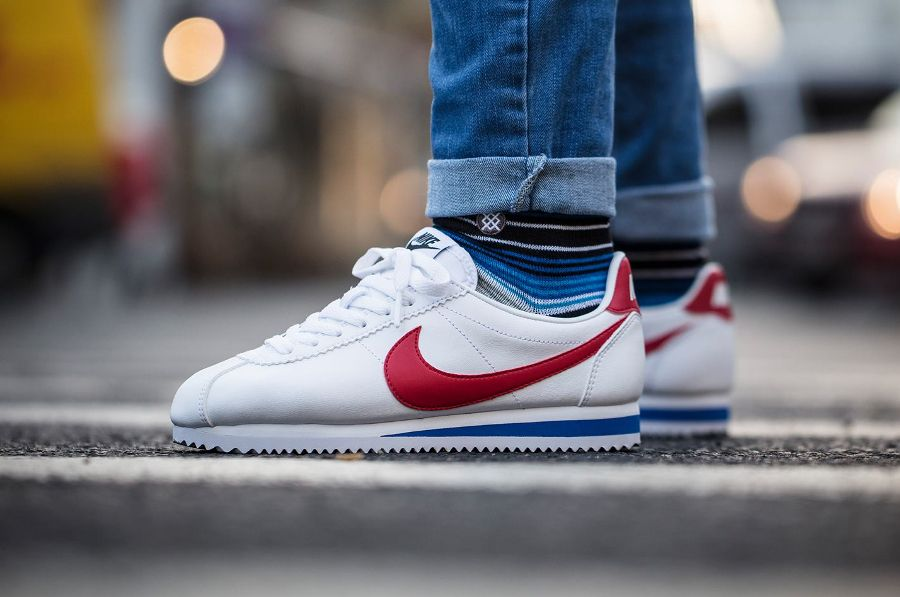 Nike Wmns Cortez Classic Leather OG 'Forrest Gump' | Shoe game ...