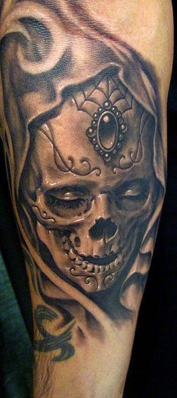 Tatuajes De Calaveras Significado E Ideas Con Imagenes
