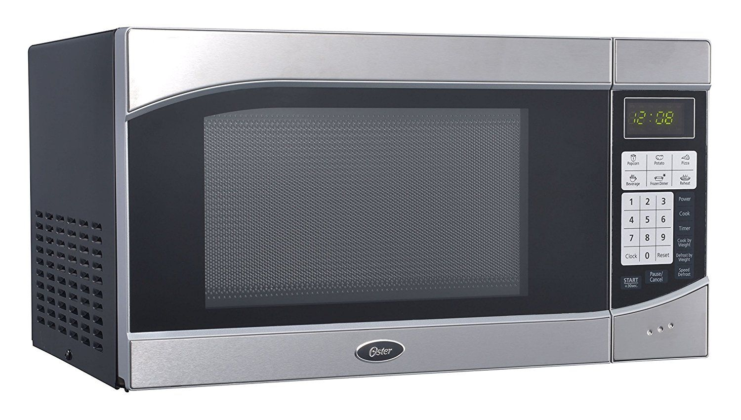 Oster Ogh6901 0 9 Cubic Feet 900 Watt Countertop Digital Microwave Oven Stainless Steel Black This Is An Amazon Affiliate Link Compact Microwave Compact Microwave Oven Microwave Oven