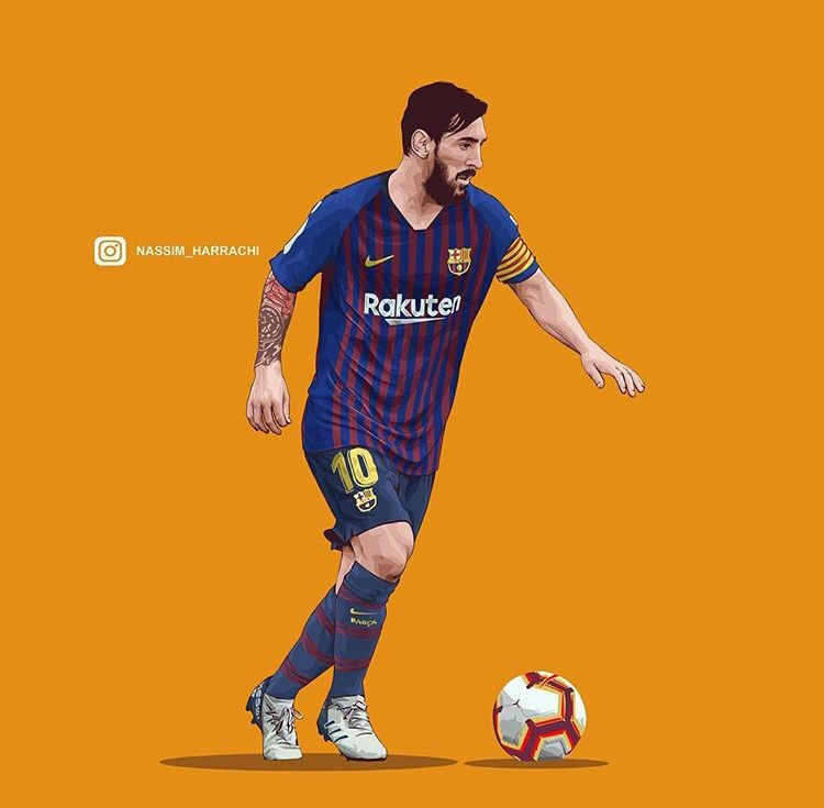 Pin By Papy On Barcelona Illustration Lionel Andrés Messi Leo Messi Barcelona Football