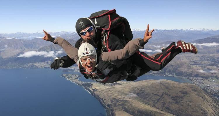 Nzone Skydive Queenstown Skydiving Travel Adventure