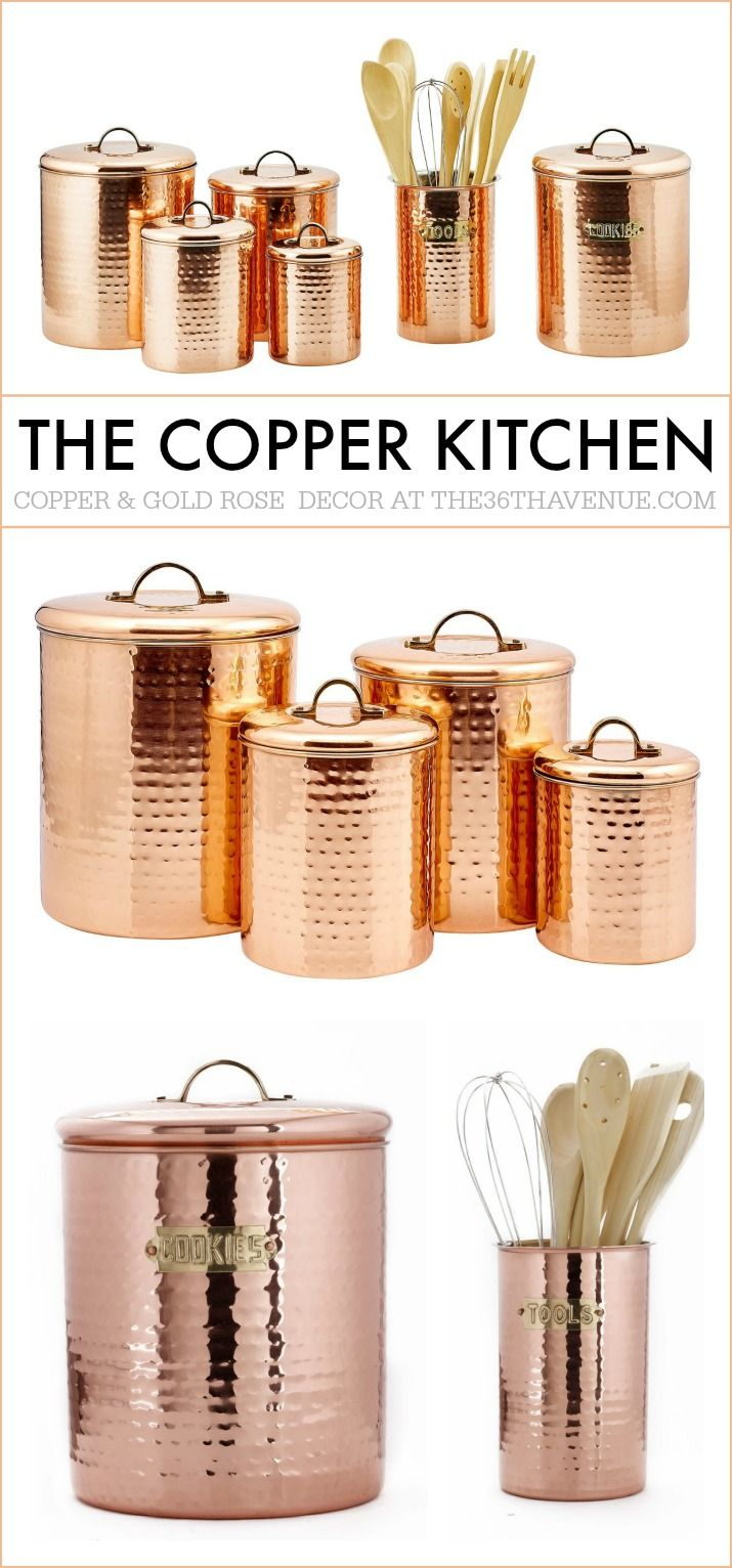 MUST SEE Cooper Kitchen Ideas! Copper AccessoriesKitchen ...