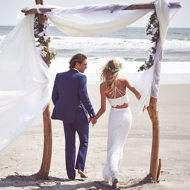 """Spring #weddings: Ethereal, #bohemian Looks For When You Say """"i Do"""" On #todaysfrontpage #shopthelook By Tapping The Link In Our Profile By Shopbop"""