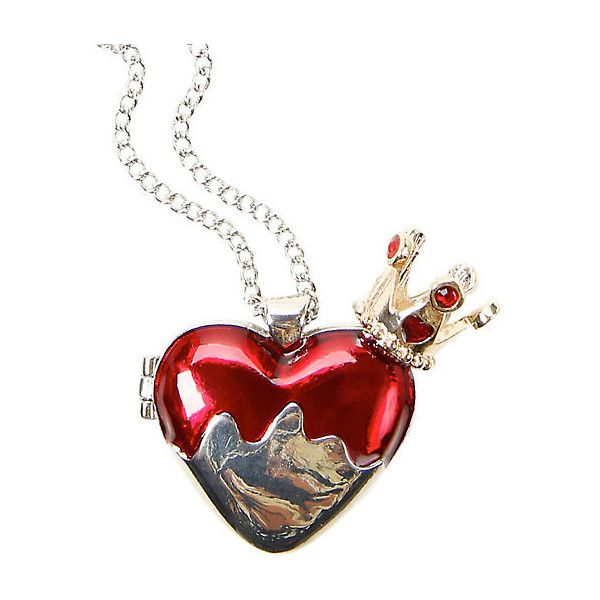 Disney Alice In Wonderland Red Queen Heart Locket Hot Topic ($10 ...