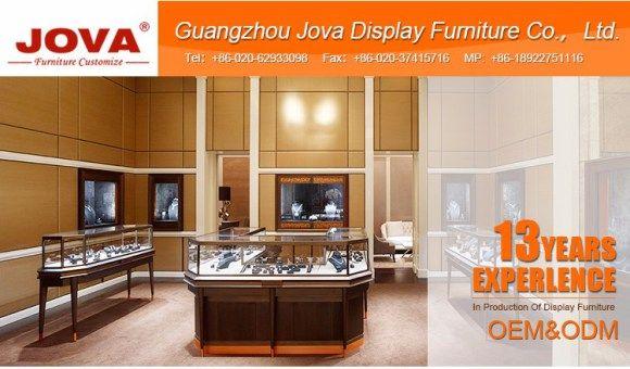 MDF Display Jewellery Showroom Interior Design Jewelry Showcase View