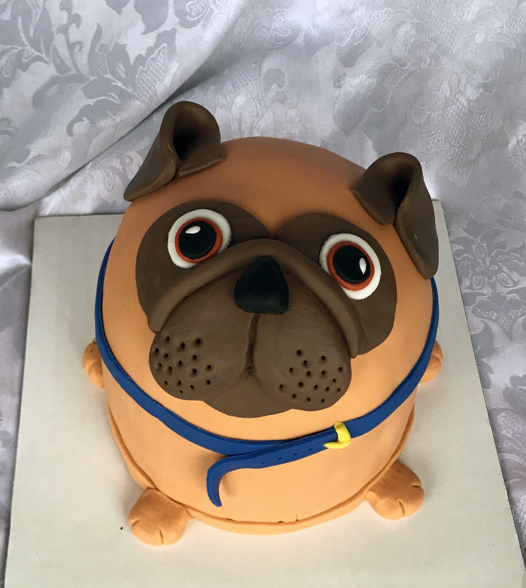 Pug Dog Cake Story Pug Dog Cake