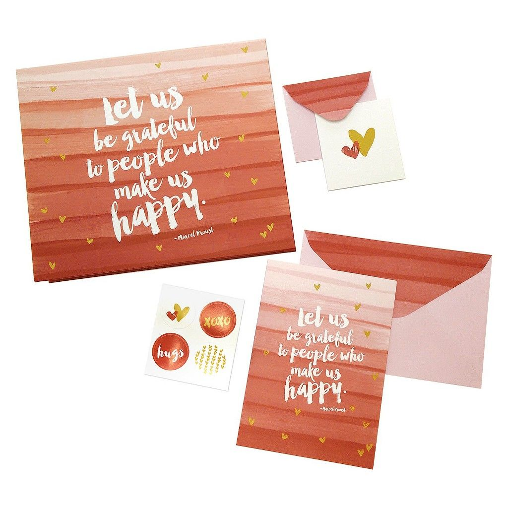 Note card set red note cards notecard set card set