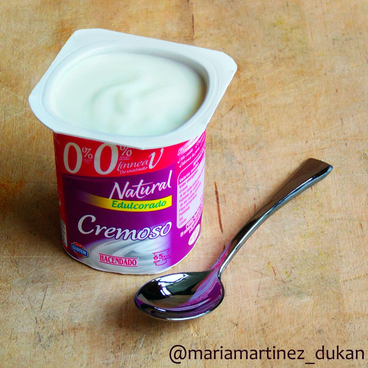 yogur natural desnatado edulcorado mercadona