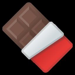 Chocolate Bar Icon Emoji Food Chocolate Chocolate Bar