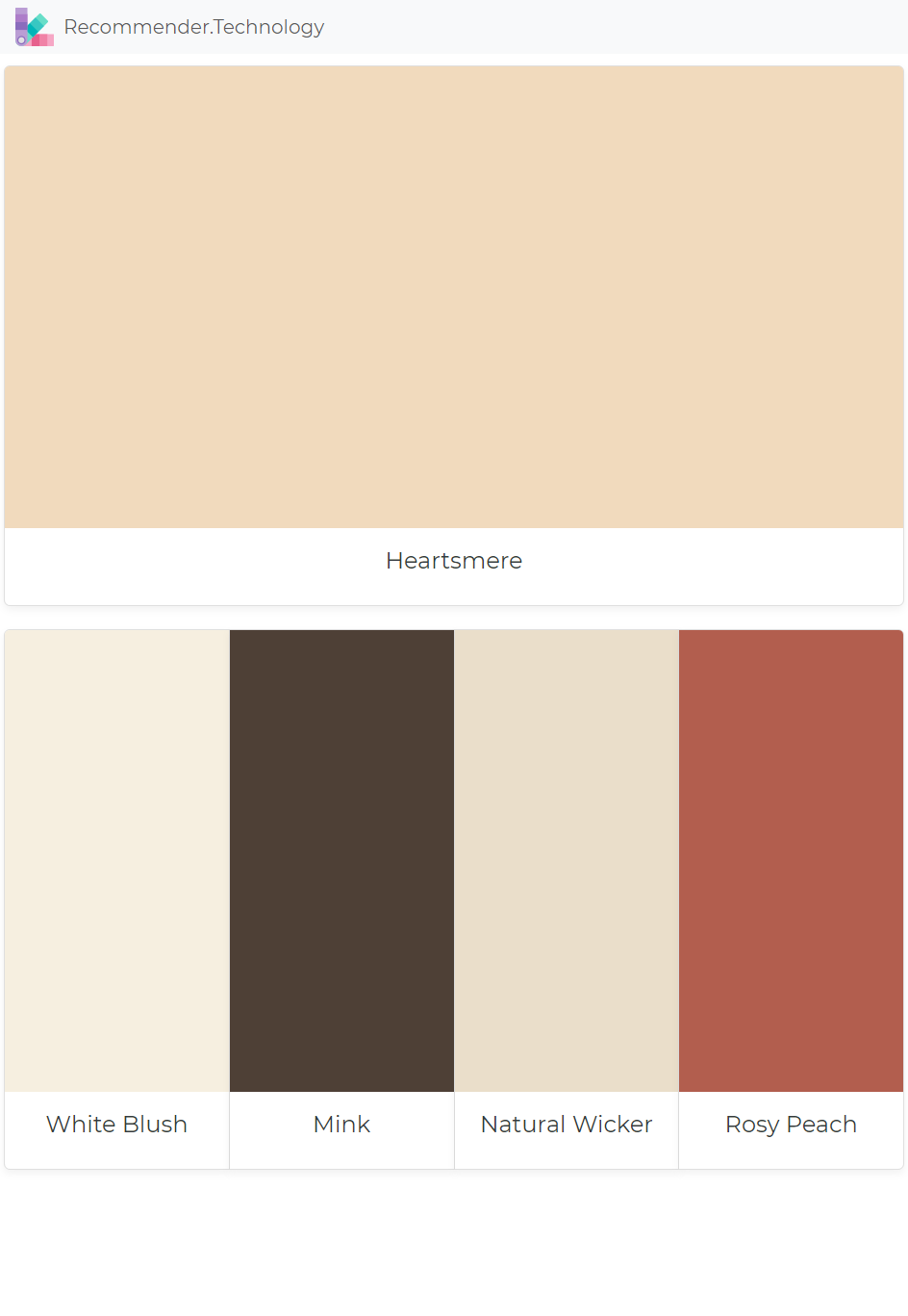 heartsmere white blush mink natural wicker rosy peach on benjamin moore interior paint chart id=43574