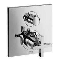 hansgrohe axor citterio cross head shower valve u0026 shut off