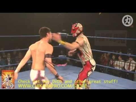 CHIKARA: Soldier Ant vs. Pinkie Sanchez (Pink Ant) [PCAGG 265]