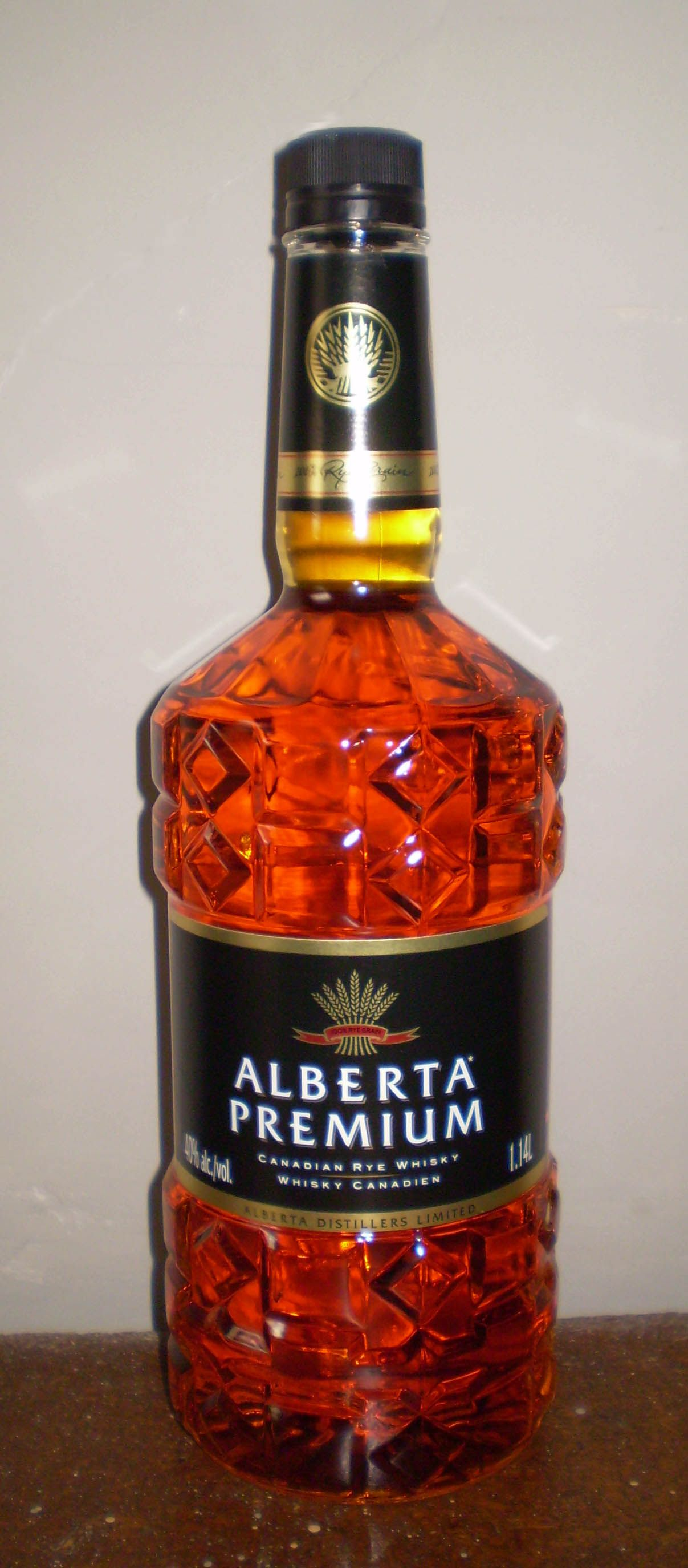Canadian Rye Whisky made from real rye.   Bottles   Pinterest