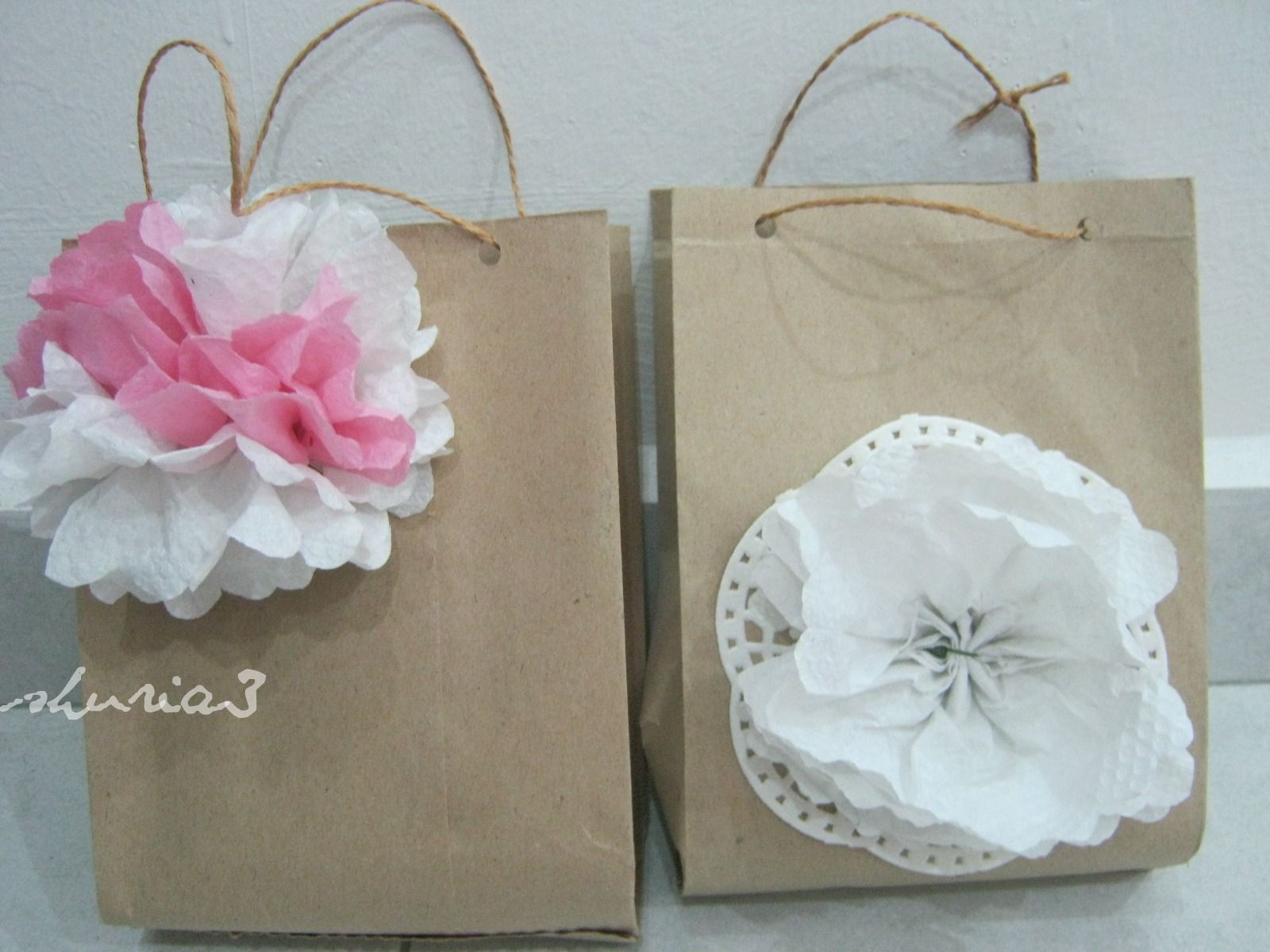 Diy Brown Paper Gift Bags Images - Tali Pun Main
