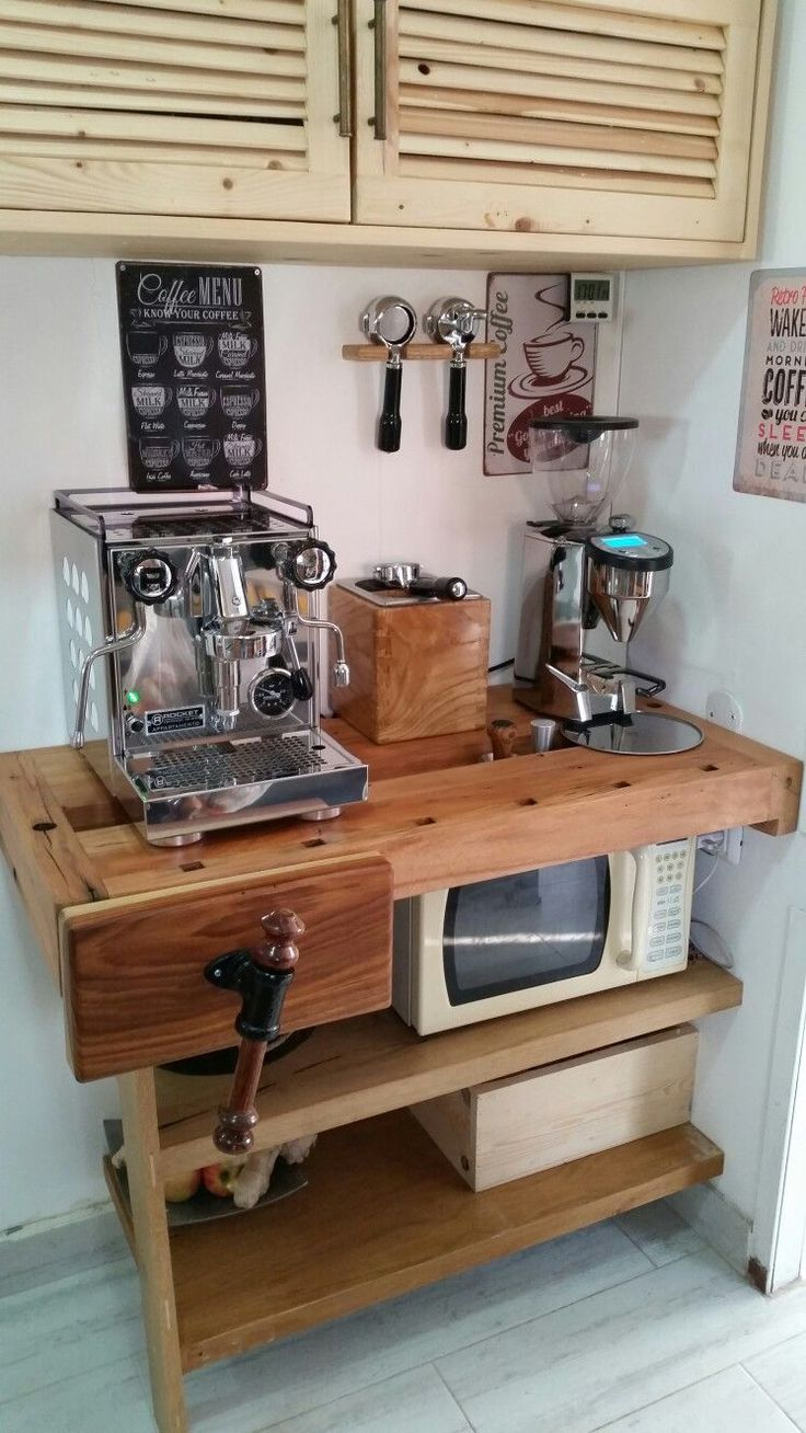 30 Stylish Home Coffee Bar Ideas (Stunning Pictures Included)