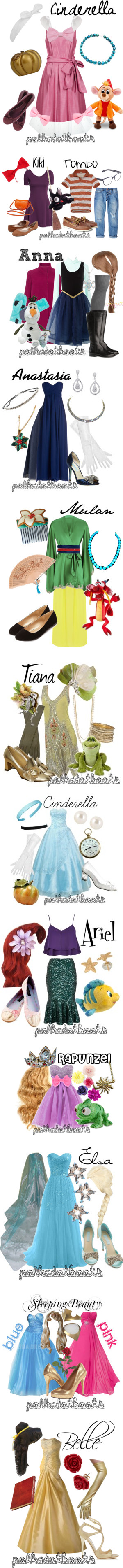 Disney Halloween Costumes by polkadotboots on Polyvore featuring M&S, Pearlyta, Dorothy Perkins, Swamp, Timmy Woods, J.Crew, women's clothing, women's fashion, women and female