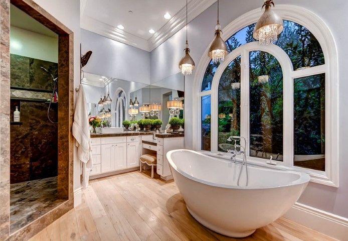 Bad-Anhänger-Beleuchtung-Ideen Dekoration - Home Design - Mobel
