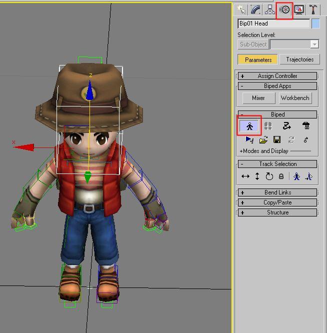 PMZAG Master :: Skin 이 적용된 Editable Poly를 Editable Mesh 로 바꾸는 방법 - 3DS MAX