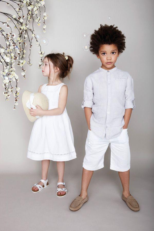 dd4f59409 Niños a la moda  Colección ropa infantil para ceremonias ( Primavera-Verano  2013 )