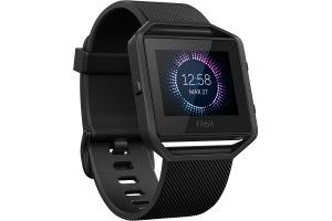 Fitbit - Blaze Smart Fitness Watch (Small) - Gunmetal - Angle Zoom