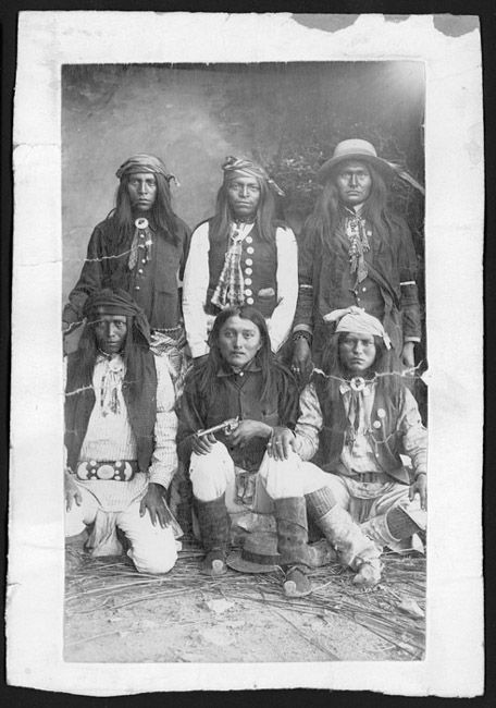 Center front is Alcesay, Chief White Mountain