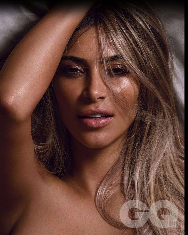 Kim Kardashian Poses Nude, Naturally, On Her First-Ever GQ
