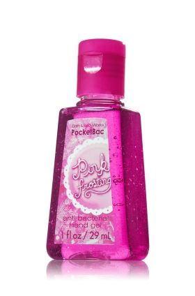 Pink Frosting Pocketbac Sanitizing Hand Gel Anti Bacterial