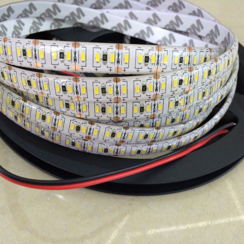 120 204 Leds M 3014 Led Strip 5m Warm White Waterproof Flexible Tape Rope Light Stripe 12v Led Rope Lights Rope Light Led Strip Lighting