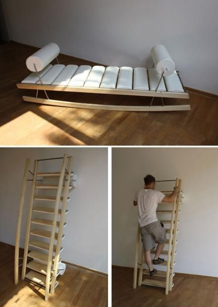 High Quality Sofa Bed Ladder...This Is Cool! : ). Library BedroomMultipurpose Furniture Multifunctional FurnitureDiy ... Good Ideas