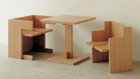 Cube Style\'s Dining Table in a Cube   Small apartment ...