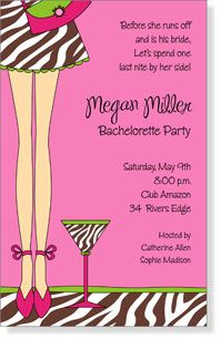 Girls Night Invitation Wording INVITATIONS See ALL Bridal