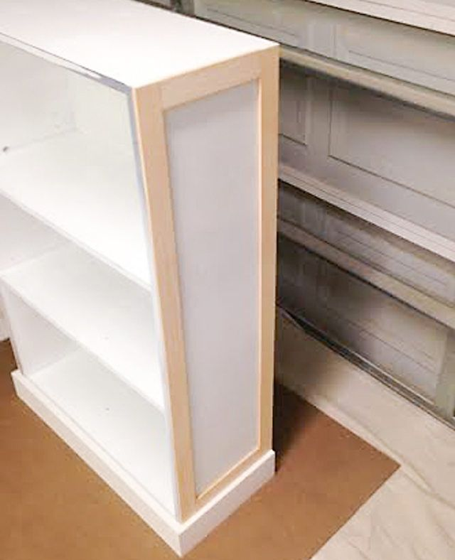 How To Upcycle A Cheap, Old Bookcase Into A New, Design