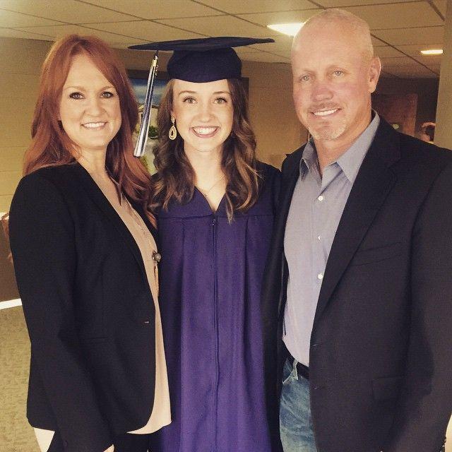 Ree, Alex And Ladd At Alex's High School Graduation, May 9