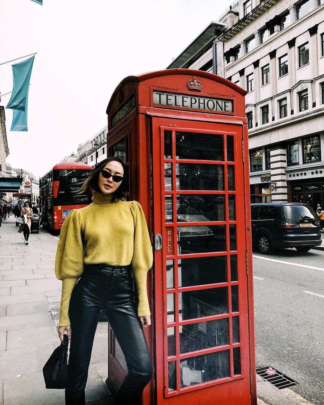 De vrouwelijke vis: de Engelse telefooncel
