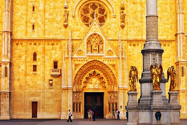 14 Top Tourist Attractions In Zagreb Easy Day Trips Planetware Zagreb Tourist Attraction Cathedral