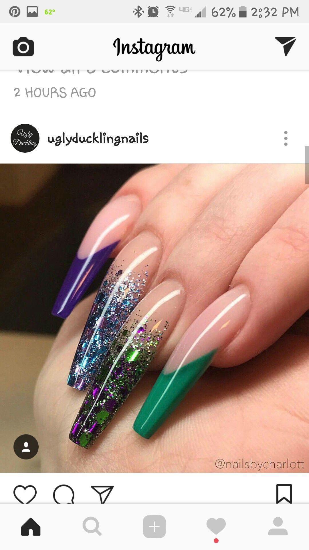 Pin by mal on nails pinterest acrylic nail art