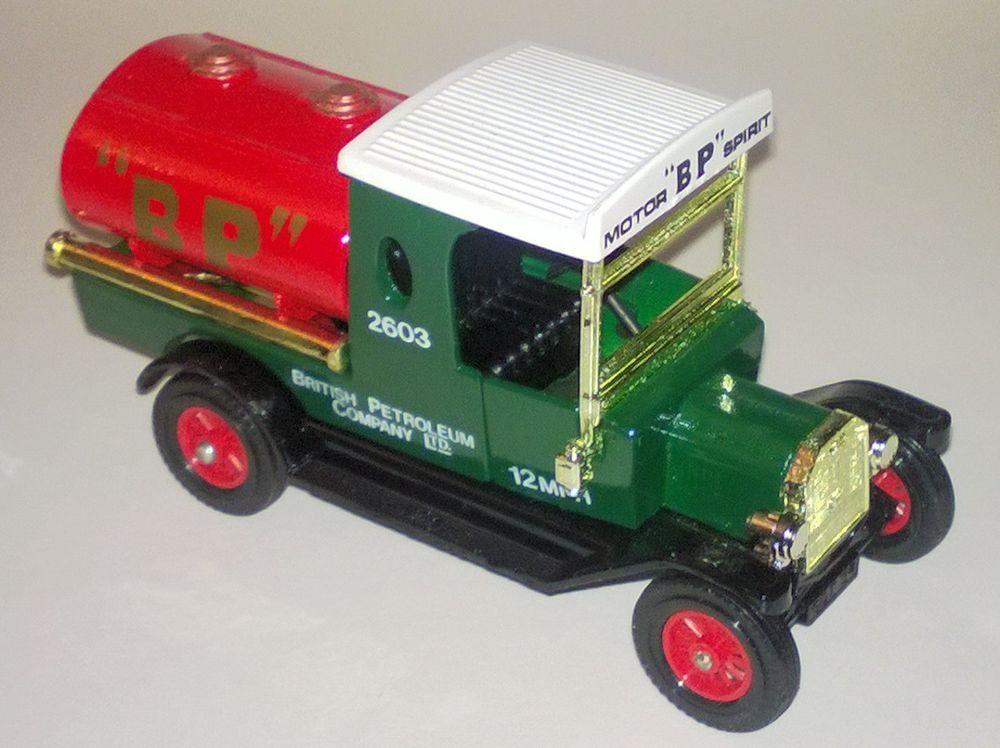 Matchbox Models Of Yesteryear Y 3 Ford Model T Tanker Bp