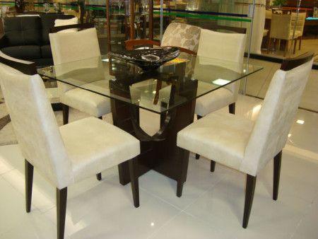 Tipos De Mesas De 4 Cadeiras Para Jantar Em Familia Mesa De