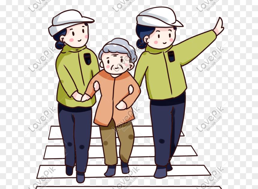 26 Gambar Kartun Menolong Orang Tua Kartun Yang Digambar Tangan Membantu Orang Tua Menyeberang Download Hijrah Home Facebook Kartun Gambar Kartun Gambar