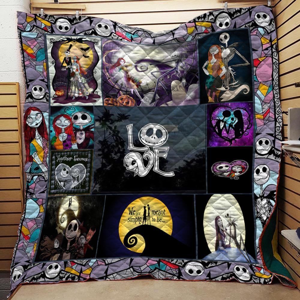Jack Skellington Quilt Blanket C Nightmare before