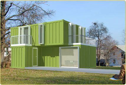 Conhouse Mod Suburbia A Casa De Viver Container Tiny House